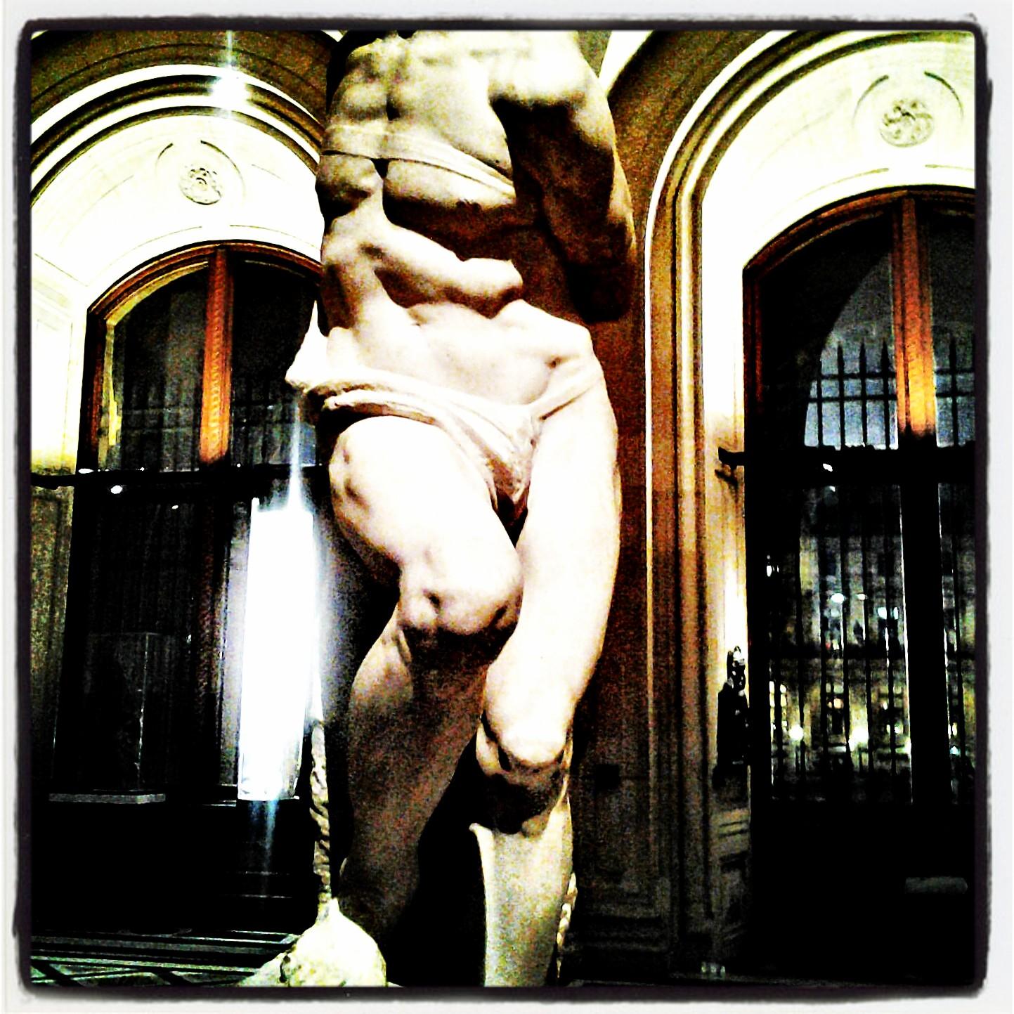 """""""Восставший раб"""" Микеланджело"""